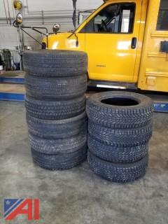 (10) Car and Truck Tires