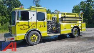 1999 HME Smeal 1871-SFO Custom Cab Pumper Fire Truck