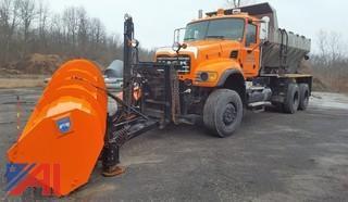 **Videos Added** 2004 Mack CV713 Granite Sander Truck With Plows