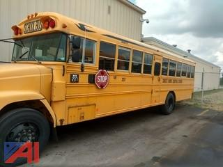 1999 Freightliner FS65 Bluebird Wheelchair School Bus
