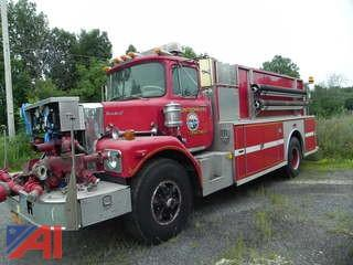 **UPDATED** 1977 Brock A758 Pumper Truck