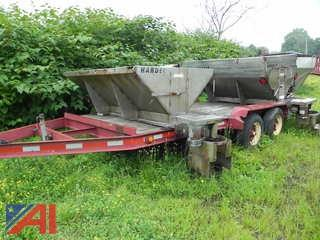 1988 Road Hawk 4 Ton Trailer