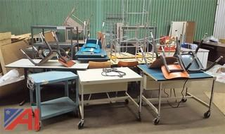 Large Lot of Assorted School & Office Furniture