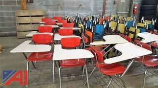 Student Arm Desks & Student Chairs