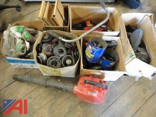 Leaf Blower, Weed Wacker Parts & More