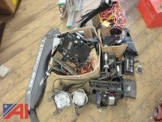 Lot of Miscellaneous Police Vehicle Equipment