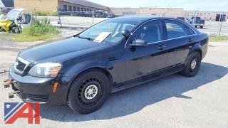 2013 Chevrolet Caprice/Police Package 4DSD