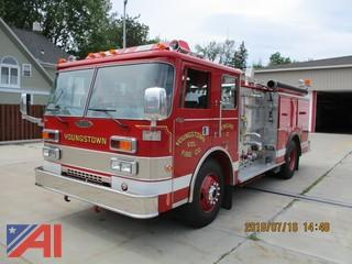 1990 Pierce Tilt Cab Fire Truck