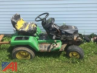 John Deere GX335 Lawn Tractor and Attachments