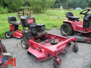 "55"" Toro Proline 30181 Walk Behind Mower with Sulky"