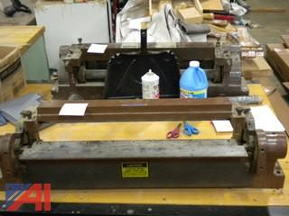 "(2) 24"" Table Mount Metal Brakes"