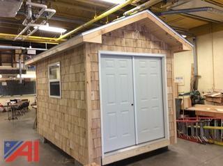 12' x 8' Wooden Shed w/ Window & Door