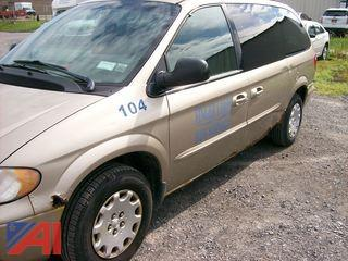2003 Chrysler Town & Country Minivan