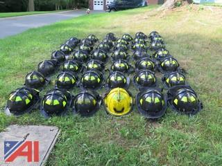 (42) New Yorker Style Fire Fighter Helmets