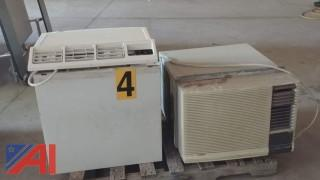 (2) Window Air Conditioning Units