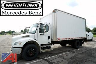 2009 Freightliner M2 Conventional 18' Box Truck/7-195