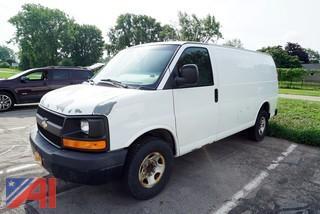 2009 Chevrolet Express Cargo Van/T195