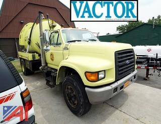1995 Ford F Series Vactor Ramjet Sewer Jet Truck
