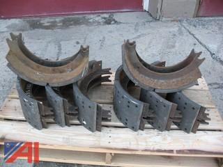Pallet of (8) Old Brake Shoes