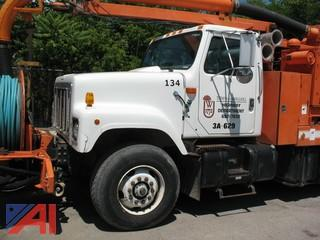 1999 International S2554 Vac-Con Truck