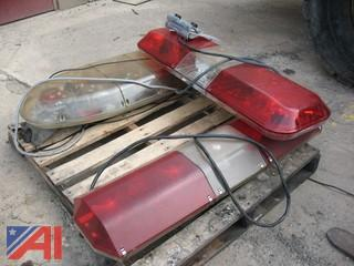 Pallet of (3) Police Roof Lights