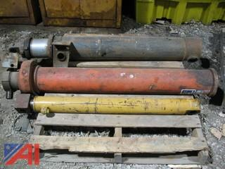 Pallet of (2) Dump Body Hydraulic Cylinders
