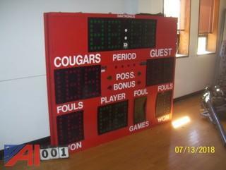 Daktronics Score Board
