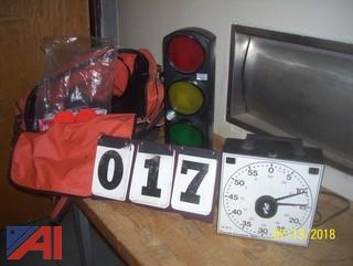 Shot Clock and Accessories