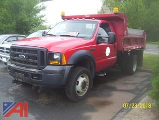 2006 Ford F550 Dump with Plow