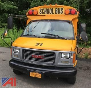 2001 GMC Savana G3500 School Bus