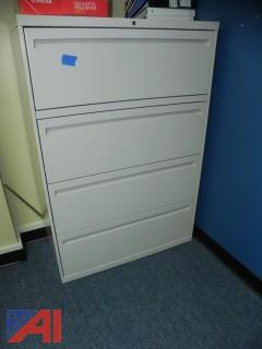 (14) Filing Cabinets and Cabinets (5 Various Rooms)