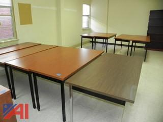 (14) 5' Tables (7 Various Rooms)