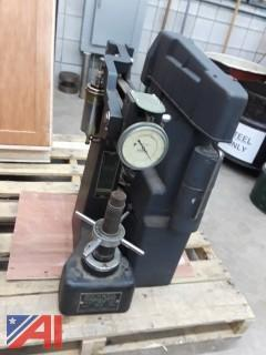 (2) Rockwell Hardness Testers