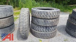 (5) Michelin XDY3 Tires