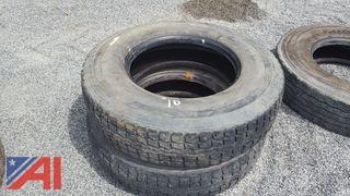 (2) Goodyear G167 Tires