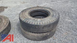 (2) General Ameri Star SRF Tire with Tubes