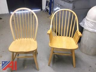 (50) Oak Chairs