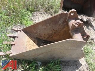 "Gradall 23"" Wide Bucket"