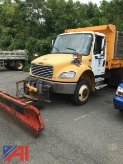 2004 Freightliner M2106 Dump Body with Plow