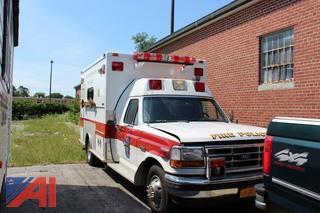 1992 Ford F350 XLT Ambulance