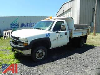 2002 Chevrolet Silverado 3500 Dump Truck
