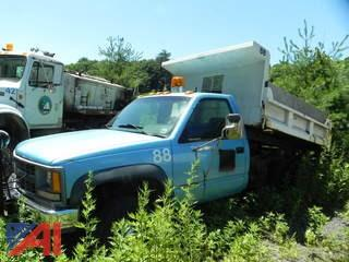 1994 Chevrolet C/K 3500 Pickup with Dump Body
