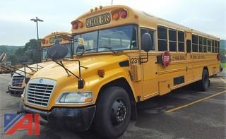 2008 Bluebird Vision School Bus with Wheel Chair Lift