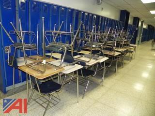 (40) Virco Student Desk w/ Chair