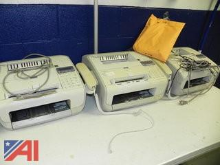 Lot of Fax Machines and Printers