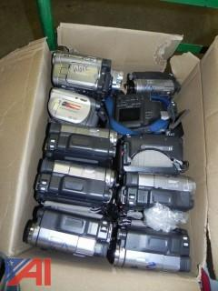 Large Lot of Cameras, Camcorders and Accessories