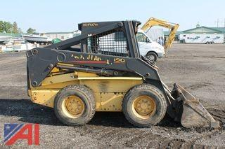 2002 New Holland LS190 Skid Steer
