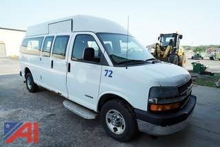 2005 Chevy 3500 Express Main Mobility Wheelchair Van