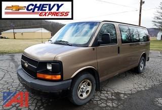 2003 Chevy Express Passenger Van