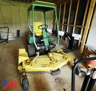 "John Deere F935 Commercial 72"" Front Mower & Broom"